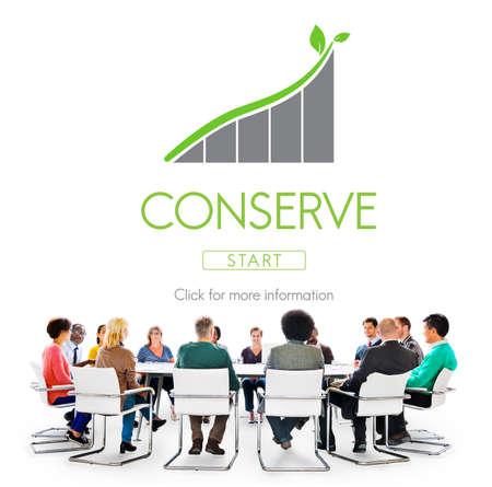 conserving: Conserve Ecology Environmental Preservation Concept