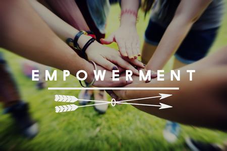 liberate: Empowerment Enable Improvement Progress Concept