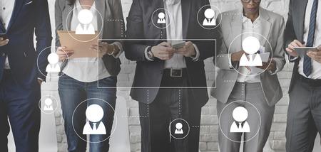 Recursos Humanos Profesión concepto gráfico de negocios Foto de archivo - 59247384