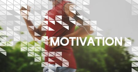 stimulus: Motivation Encourage Enthusiasm Stimulus Motivate Concept