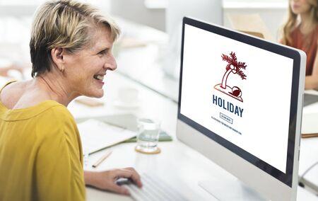 explore: Explore Holiday Journey Travel Explore Concept Stock Photo