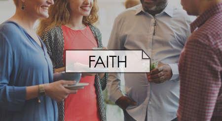 creer: La fe cree Espíritu Concepto amor de la ayuda