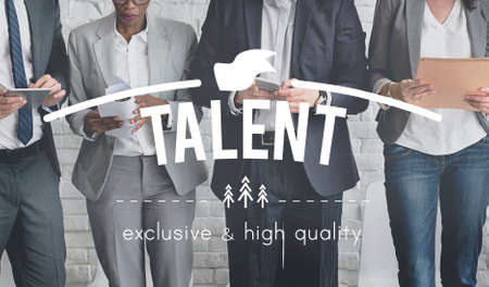 capacity: Talent Aptitude Capacity Natural Skill Technique Concept Stock Photo
