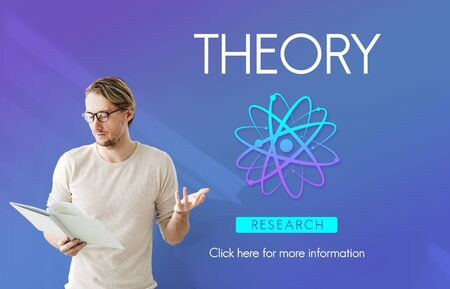 experimental: Theory Balance Experimental Function Science Concept Stock Photo