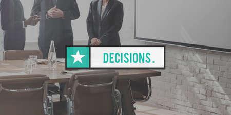 verdict: Decisions Option Choice Verdict Concept