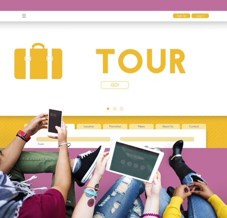 campus tour: Tour Tourism Traveling Exploration Destination Concept