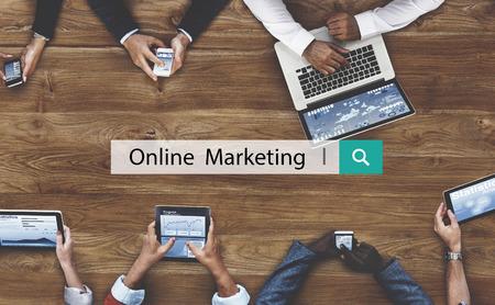 Online Marketing Branding Digital Concept Comercial