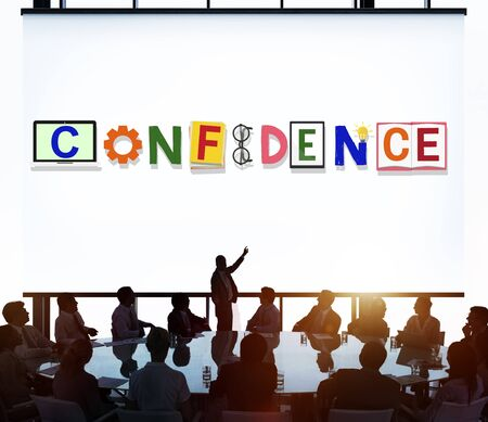 reliance: Confidence Conviction Belief Faith Reliability Trust Concept
