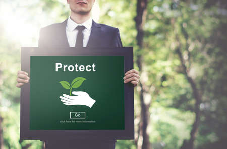 environmental suit: Protect Saving Security Safety Prevention Protection Concept Stock Photo
