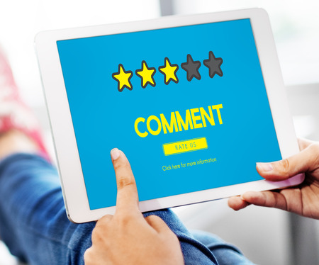 suggestions: Customre Feedback Comment Vote Review Results Concept