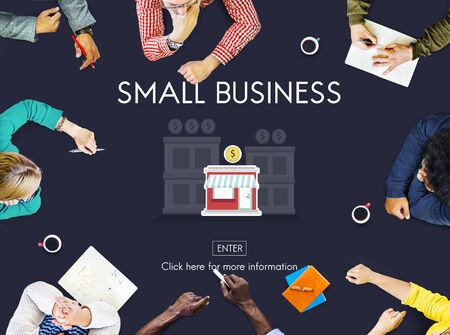 company ownership: Small Business Niche Market Products Ownership Entrepreneur Concept