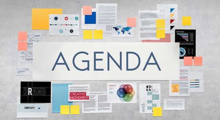appointment: Agenda Appointment Calendar Schedule Meeting Concept