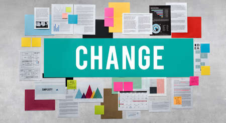 adapting: Change Choice Adapting Direction Ideas Planning Concept