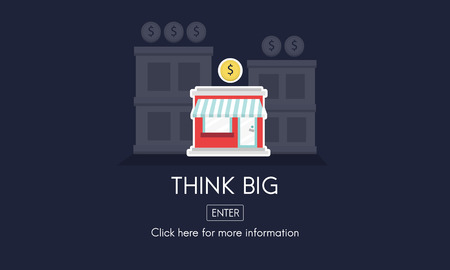 new opportunity: Think Big Investment Opportunity Business Concept