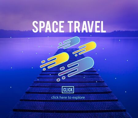 astronomy: Space Observation Travel Astronomy Exploration Concept