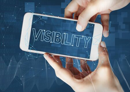 observable: Vision Visibility Observable Noticeably Graphic Concept