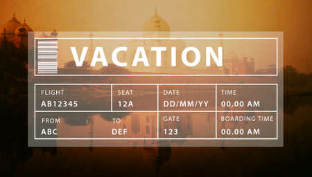 fiesta popular: Holiday Travel Tourism Relaxation Graphic Concept Stock Photo