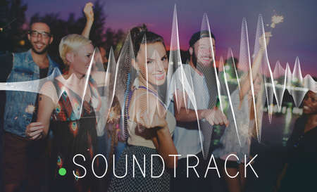 soundtrack: Soundtrack Audio Background Balance Media Concept