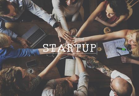Start Up Business Idea Beginning Concept Stock Photo