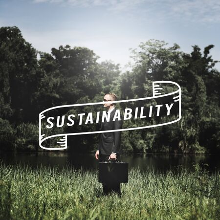 viable: Sustainability Awareness Ecology Economy Viable Concept