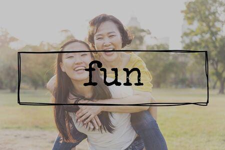 Fun Activities Enjoyment Happiness Enjoyment Pleasure Concept