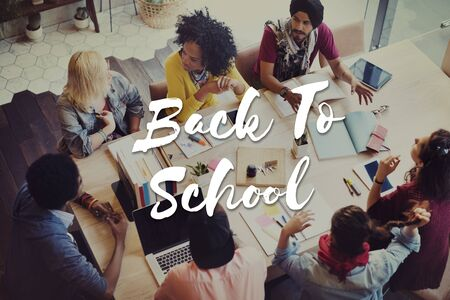 Back to School Education Intelligence Concept