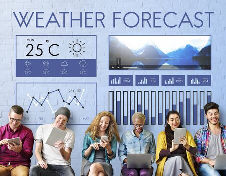 Estado del tiempo Noticias Informe de Pronóstico Climático Concepto Temperatura Meteorología