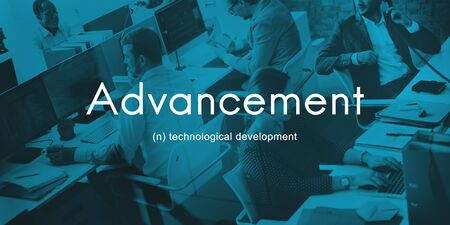 advancement: Advancement Technology Futuristic Innovation Development Concept