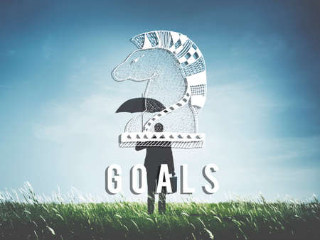 creer: Objetivos Objetivo creas confianza inspiración concepto objetivo