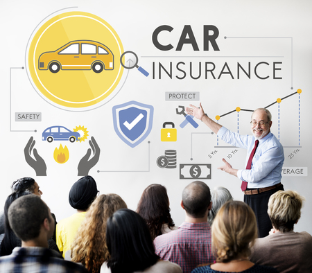 coverage: Car Insurance Policies Safety Coverage Concept