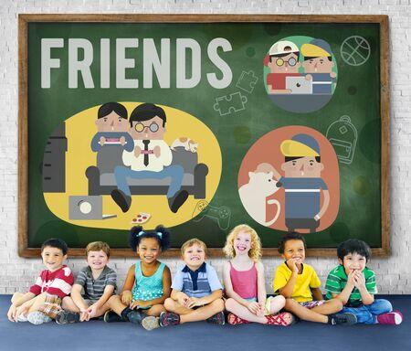 companionship: Friends Friendship Activity Leisure Concept