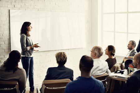 Capacitación en conferencia Planificación Aprendizaje Coaching Business Concept