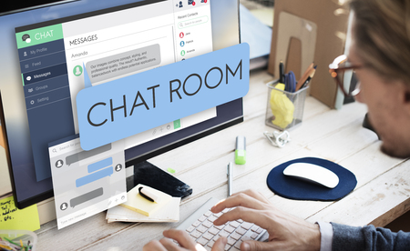 chat room: Chat Room Chatting Communication Connect Concept