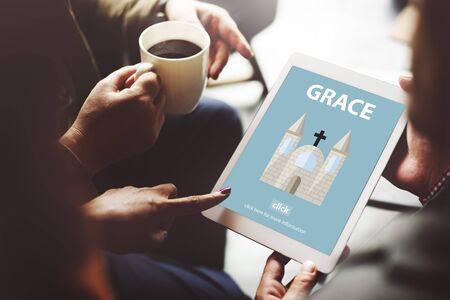 refinement: Grace Hope Poise Spiritual Worship Faith God Concept