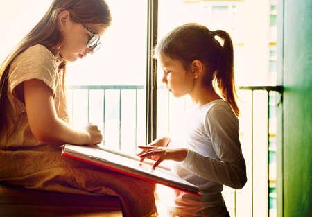visualise: Sisters Friendship Ideas Imagination Creative Concept