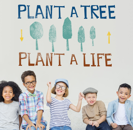 Plant A Tree Life Ecology Concept Stock Photo