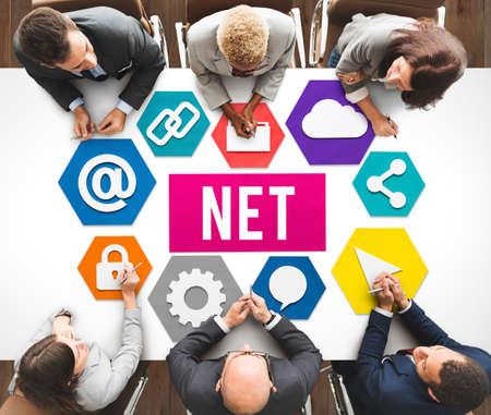diversity domain: Net Internet Network Online Web Concept