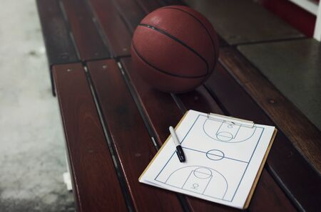 game plan: Basketball Playbook Game Plan Strategy Tactic Sport Concept
