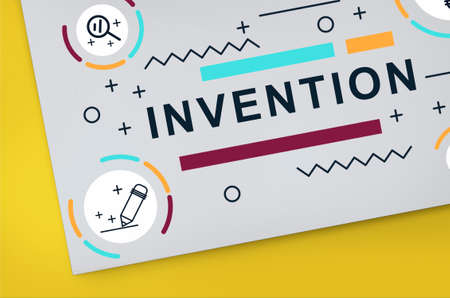 be the identity: Invention Innovate Create Design Graphic Concept