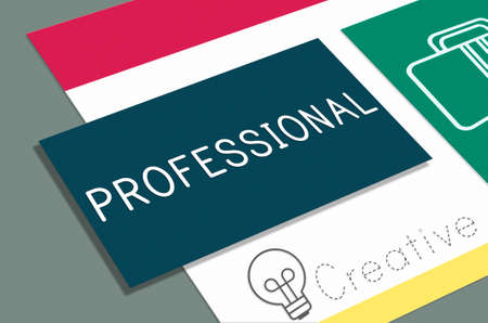 knowledgeable: Professional Profession Creative Business Concept