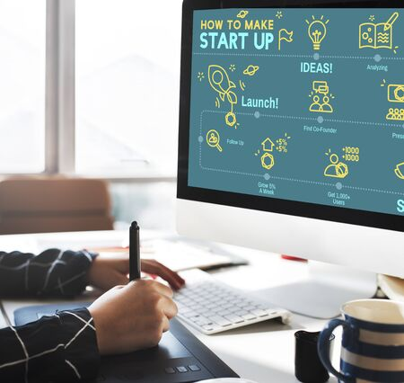 aspiration: Start-Up Aspiration Business Plan Creative Launch Concept