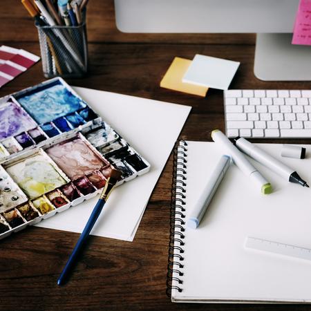 Idées Profession créative Design Studio Dessin Startup Concept