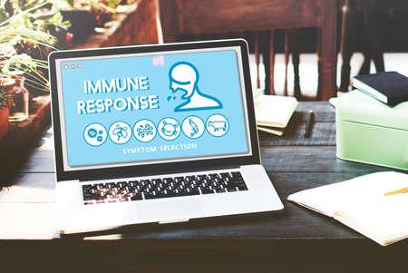 response: Immune Response Allergy Disorder Sickness Healthcare Concept