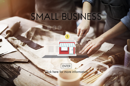 niche: Small Business Niche Market Products Ownership Entrepreneur Concept