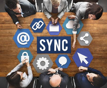 conform: Technology Sync Word Graphic Concept