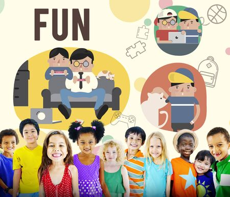 hobby: Fun Lifestyle Happiness Hobby Concept Stock Photo