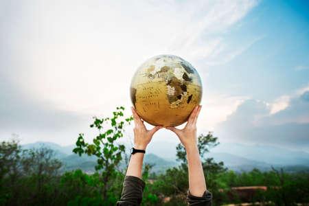 Welt Global Networking International Society Konzept