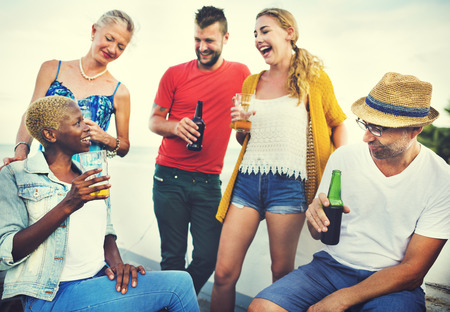 Celebración Fiesta de la Cerveza Saludos Concepto Evento social