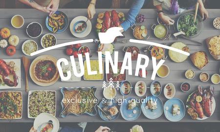 visitador medico: Culinario Catering Buffet Concepto de la comida