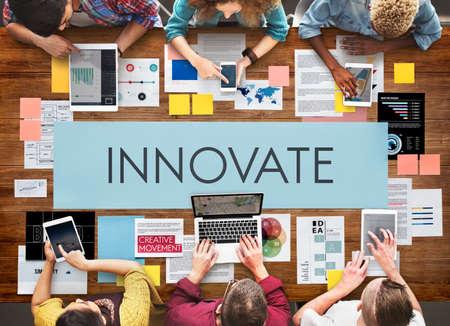 aspirations: Innovate Aspirations Invention Fresh Ideas Concept